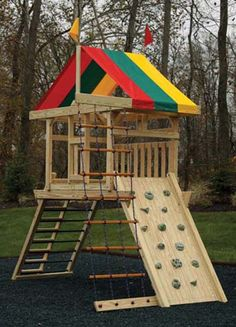 Playset Towers | Hardy Lawn Furniture | Amish Built Lawn Furniture, Gazebos, Sheds & Playgrounds | Iowa City, Iowa