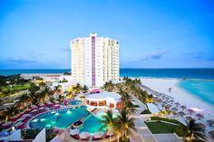 Hermosa vista del Krystal Grand Punta Cancún, México - ¿Se te antoja?