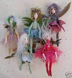fairy doll patterns | PATTERN - Making Fairies Fairy Doll Angel