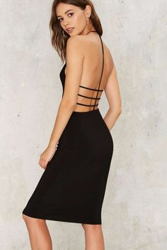 Come of Cage Midi Dress - Clothes | Best Sellers | Going Out | Midi + Maxi | LBD
