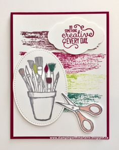 Stamping With Marlaine: Crafting Forever Stamp Set by Stampin' Up!
