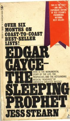 Edgar Cayce: The Sleeping Prophet: Jess Stearn: 9780553260854: Amazon.com: Books