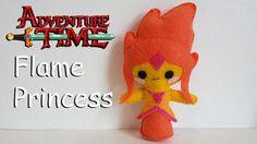 How to Make an Adventure Time Flame Princess plushie tutorial