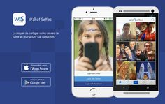 App wall-of-selfies Applications Mobiles, Me App, Pet Travel, Mobile Application, App Store, Android Apps, Selfies, Wall, Walls