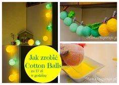Jak zrobić cotton balls za 17 zł I Mama Inspiruje