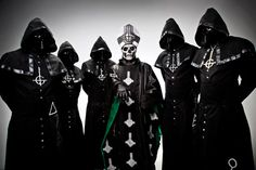 Oh yes!  A Nameless Ghoul from Ghost B.C. on Papa Emeritus II being too evil for the Vatican - Backbeat