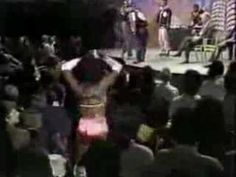 """2-Live Crew performing """"Face down ass up"""" on the Phil Donahue show in 1990."""