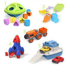 Green Toys are a brand we sell that save energy and are great for children!