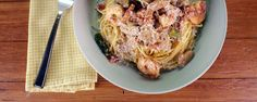 JESSIE JAMES DECKER'S Cajun Shrimp Pasta. The Chew--Make this spicy, creamy, shrimp pasta for dinner tonight!