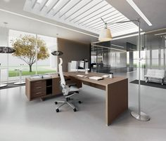Individual desks   Desks-Workstations   York Managerial line 02 ... Check it out on Architonic
