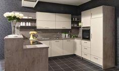 cuisine-beige-bois-cuisiniste-fauville | pièces de la maison ...