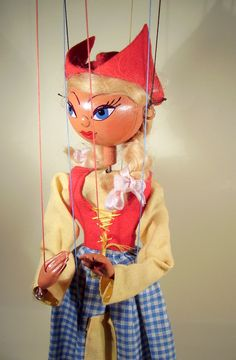 1950's Pelham Puppet Dutch Girl - I had one just like this as a Christmas Gift