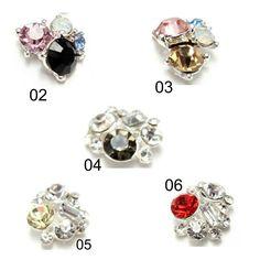 10 pcs jewels for nail art