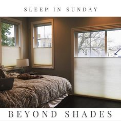 Sleep til you are through with custom made black out shades. Many options and one is perfect for you. Add PowerView Remote control and have your shades automatically open close raise lower so that you can enjoy your best sleep ever! Call us at 312-928-9000 and learn more. #sleepinsunday with top-down/bottom-up Duette Architella Honeycomb shades by Hunter Douglas #windowshades #automaticwindowshades #customwindowshades #newhome #newhomes #newhomeowner #newhomeowners #mynewhome #ournewhome…