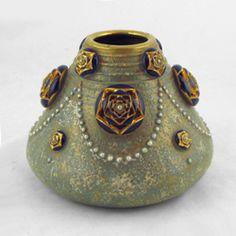 amphora dachsel flower beads
