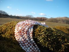 Round Shell Pearl Strand mixed Colours as shown in by Blandsgill, £5.00