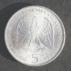 Rare Silver Coin 1970-F Germany-Federal Republic 5 Mark, Uncirculated, Mint Condition, Full luster  http://www.amazon.com/gp/product/B00JZNDGCM/?tag=p1nt-20