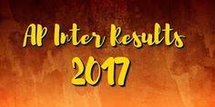 AP Inter 1st, Final Year Results 2017: To be Released today at 12 pm on bieap.gov.in     The Board of Intermediate Education Andhra Prades...