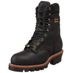 "31% Off was $294.00, now is $203.46! Chippewa Men's 9"" Waterproof Steel-Toe Super Logger Boot"