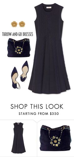 """Minimal"" by patricia-dimmick on Polyvore featuring Tory Burch, Paul Andrew, Gucci, Miriam Haskell and easypeasy"