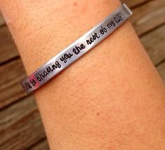 Hanson Georgia Bracelet by StampAmour on Etsy, $12.00