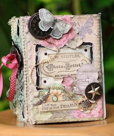 Cool idea for making a magic spell book...