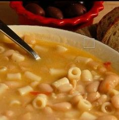 Hearty Bean and Pasta Soup recipe