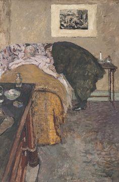 Edouard Vuillard, La Consultation - 1922 on ArtStack #edouard-vuillard #art