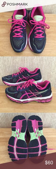 👟ASICS👟 Gel Kayano 22 Excellent condition!  Due to back and knee problems I have to replace my shoes every 3-6 months. Asics Shoes Athletic Shoes