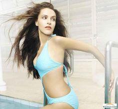 Neha Dhupia Unseen Ravishing Hot Bikini Exposing Photos