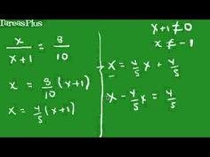 Ecuaciones lineales parte 2