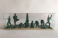 Yoga Joes Soldier Figurines Set Of 9 Figures New In Package pose positions peace  | eBay