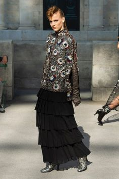 See the full Fall 2018 haute couture collection from Chanel.