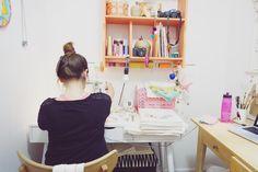 """214 Me gusta, 30 comentarios - Mandarinas de Tela (@mandarinasdetela) en Instagram: """"Me preguntan mucho sobre cómo trabajo o cómo me organizo, ayer me escribió @dipecca y voy a…"""""""
