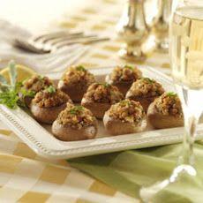 Italian-style Stuffed Mushrooms II Recipe http://www.yummly.com/recipe/Italian-style-stuffed-mushrooms-299517