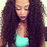 curly extensions for #naturalhair #protectivestyle