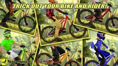 Mountain Bike Games, Mountain Biking, Bikes Games, Motocross Racing, Best Mobile, Mtb Bike, Cool Bikes, Places To Visit, Android
