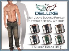 Jeans Bootcut 49L Promo by Angel DELUXE