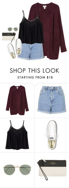 """""""baseball in memphis tomorrow⚾️❤️"""" by rob-17 ❤ liked on Polyvore featuring Monki, Topshop, Converse, J.Crew and Kate Spade"""
