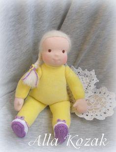Вальдорфская кукла. Солнышко. Рост - 33см.