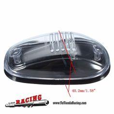 45,29€ - ENVÍO SIEMPRE GRATUITO - Juego 5X Luces Faros para Techo de Coche LED 12V + Interruptor Color de Luz Ámbar - TUTIENDARACING