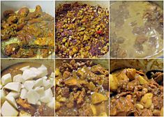 Caribbean Curry Chicken - Homestyle Curry Chicken Caribbean style typical of the British Caribbean islands Caribbean Curry Chicken, Jamaican Chicken, Chicken Curry, Crockpot Recipes, Chicken Recipes, Cooking Recipes, Chicken Meals, Trini Food, Madras Curry