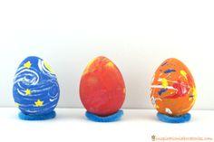 Artist Inspired Easter Eggs to Go Along with Henri, Egg Artiste by Marcus Pfister