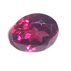 Almandite Garnet Oval cts Transparent, Medium-Dark, Purple-Red Medium x x mm Dark Purple, Garnet, Gemstones, Medium, Red, Granada, Gems, Jewels, Minerals