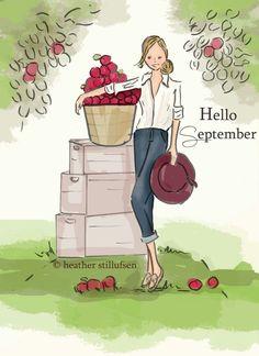 The Heather Stillufsen Collection from Rose Hill Designs; Instagram Lyrics, Instagram Shop, Facebook Instagram, Hallo September, Hello December, Hello September Quotes, Sweet September, Neuer Monat, Hello Weekend