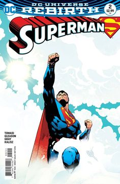 """*High Grade* (W) Peter J. Tomasi, Patrick Gleason (A/CA) Patrick Gleason, Mick Gray """"THE SON OF SUPERMAN"""" Chapter Two: In #2, Superboy takes flight as he accompanies his father, the Man of Steel, on t"""