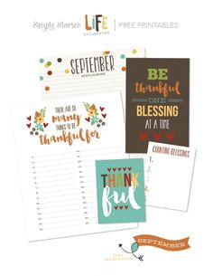 September Document It + Free Printables | Simple Stories