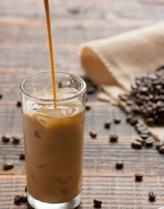 Skip the trip to Starbucks + make your own Skinny Vanilla Iced Coffee at home with this recipe.