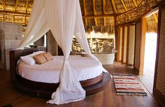 honeymoon-- mmm circle beds- mexico