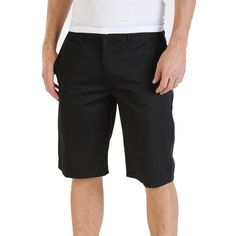 """Frickin Modern Chino  Shorts - Famous for their non-stop durability our Fricken Modern shorts are constructed in a rigid twill with a modern, easy-going fit. Classic chino details are here too, with front slash pockets and  back welt pockets. Plus, they're pre-laundered so they won't shrink in the wash. 22"""" outseam. Machine wash cold with like colors, tumble dry low, low iron as needed. by Volcom"""